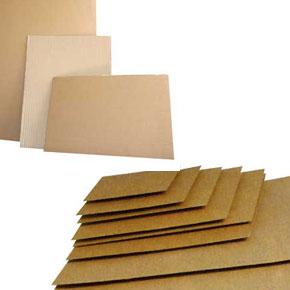 Les plaques carton